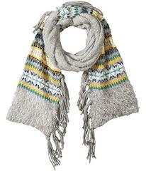BCBGeneration Border Fairisle Long & Skinny Scarf