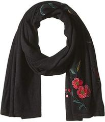 LAUREN Ralph Lauren Chrysanthemum Embroidered Scar