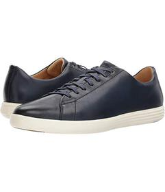 Cole Haan Navy Leather Burnish