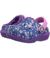 Crocs Classic Lined Graphic Clog (Toddler/Little K