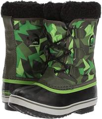 SOREL Yoot Pac Nylon Print (Little Kid/Big Kid)
