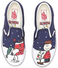 Vans Classic Slip-On x Peanuts Christmas (Little K