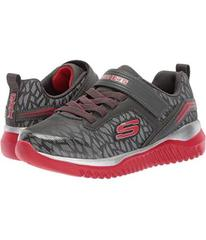 SKECHERS Charcoal/Red