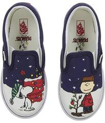 Vans Classic Slip-On x Peanuts Christmas (Toddler)