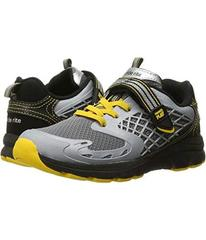 Stride Rite Black/Yellow Leather/Mesh