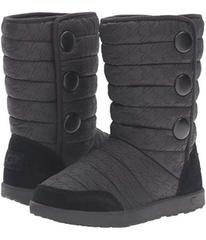 UGG Puffy Quilted Houndstooth (Little Kid/Big Kid)