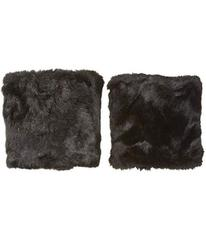 Betsey Johnson Faux Fur Boot Cuff