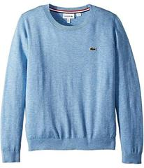 Lacoste Classic Jersey Crew Neck Sweater (Toddler/