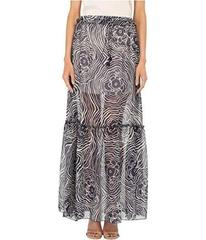 See by Chloe Floral Waves on Silk Georgette Skirt