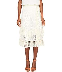 See by Chloe Crochet Fringe Skirt