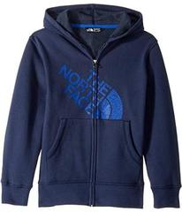 The North Face Logowear Full Zip Hoodie (Little Ki