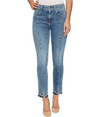 7 For All Mankind The Ankle Skinny w/ Seams & Fron