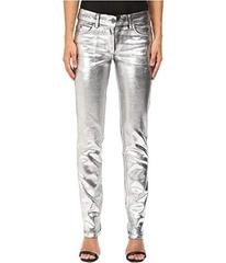 Just Cavalli Laminated 3D Stretch Five-Pocket Runw