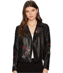 BB Dakota Rannie Embroidered Moto Jacket