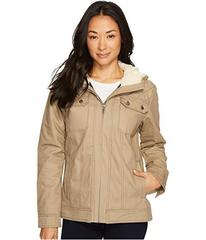 Cinch Hooded Canvas Jacket