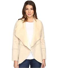 Lucky Brand Faux Shearling Waterfall Jacket