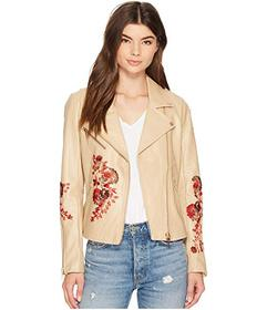 Blank NYC Floral Moto Jacket in Wildflower