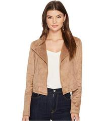 1.STATE Cropped Suede Jacket