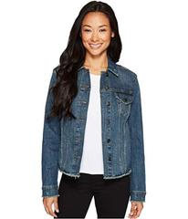 NYDJ Denim Jacket w/ Frayed Hem