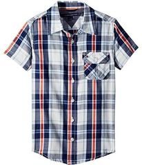 Tommy Hilfiger Short Sleeve Hong Shirt (Toddler/Li