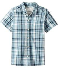 Quiksilver Everyday Check Short Button Up Sleeve S