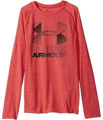 Under Armour Hybrid Big Logo Long Sleeve Tee (Big