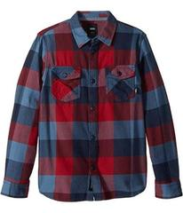Vans Box Long Sleeve Flannel (Big Kids)