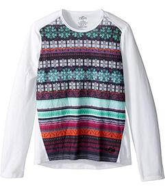 Hot Chillys Kids MTF Sublimated Print Crew Neck (T