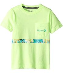 Hurley Overgrown Stripe Tee (Big Kids)