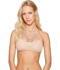 Kenneth Cole Wrapped In Love High Neck Bra Top