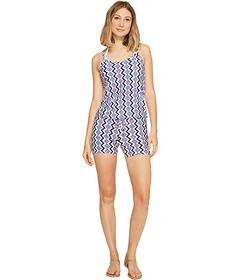 Splendid Astoria Romper Cover-Up