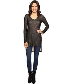 Splendid Long Sleeve V-Neck Tunic