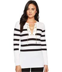 MICHAEL Michael Kors Laced Chain Tunic Sweater