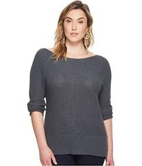 Lucky Brand Plus Size Off Shoulder Sweater