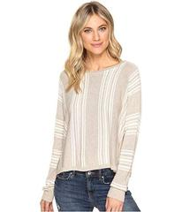 Splendid Bayside Stripe High-Low Pullover