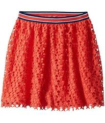 Tommy Hilfiger Star Crochet Lace Skirt (Big Kids)