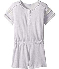 Splendid Littles French Terry Romper w/ Lace (Big