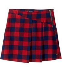 Tommy Hilfiger Plaid Zipper Skirt (Big Kids)