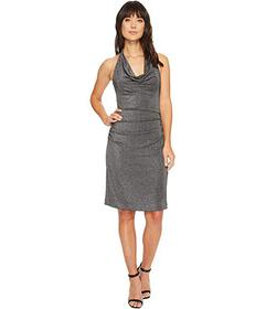 Nicole Miller Glitz Cowl Dress