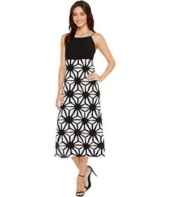 Vince Camuto Tribal Starlight Maxi Dress w/ Side S