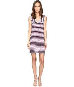 M Missoni Broken Zigzag V-Neck Dress