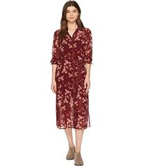 Lucky Brand Mixed Print Emily Dress