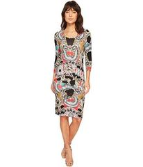 "Nicole Miller ""Dakota"" Tidal Pleat Dress"