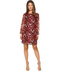 Just Cavalli Pansy Embroidered Sheath Dress