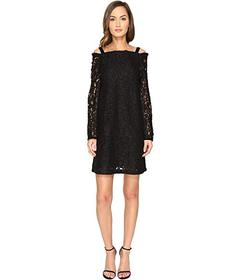 See by Chloe Lace Long Sleeve Straps Dress
