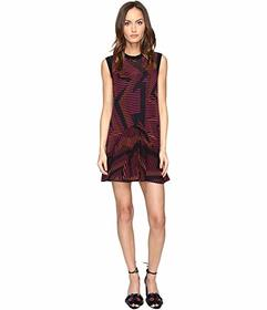 M Missoni Colorful Geo Knit Dress