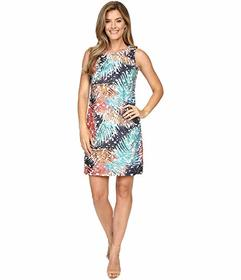 Vince Camuto Sleeveless Tropical Mystique Printed