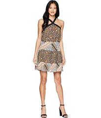 BCBGeneration Cross Front Tiered Dress