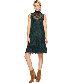 See by Chloe Lace and Pleats Dress