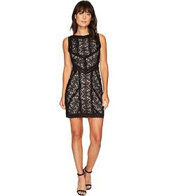 Nicole Miller Queen of the Night Stretch Lace Mini